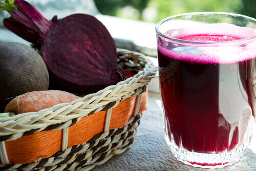 Натуральные соки для лечения и профилактики анемии