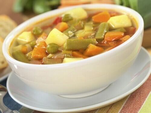 Рецепты вкусных овощных супов