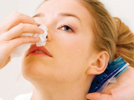Что делать при возникновении носового кровотечения