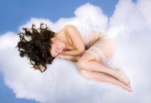 Хороший сон с домашним спреем для подушек