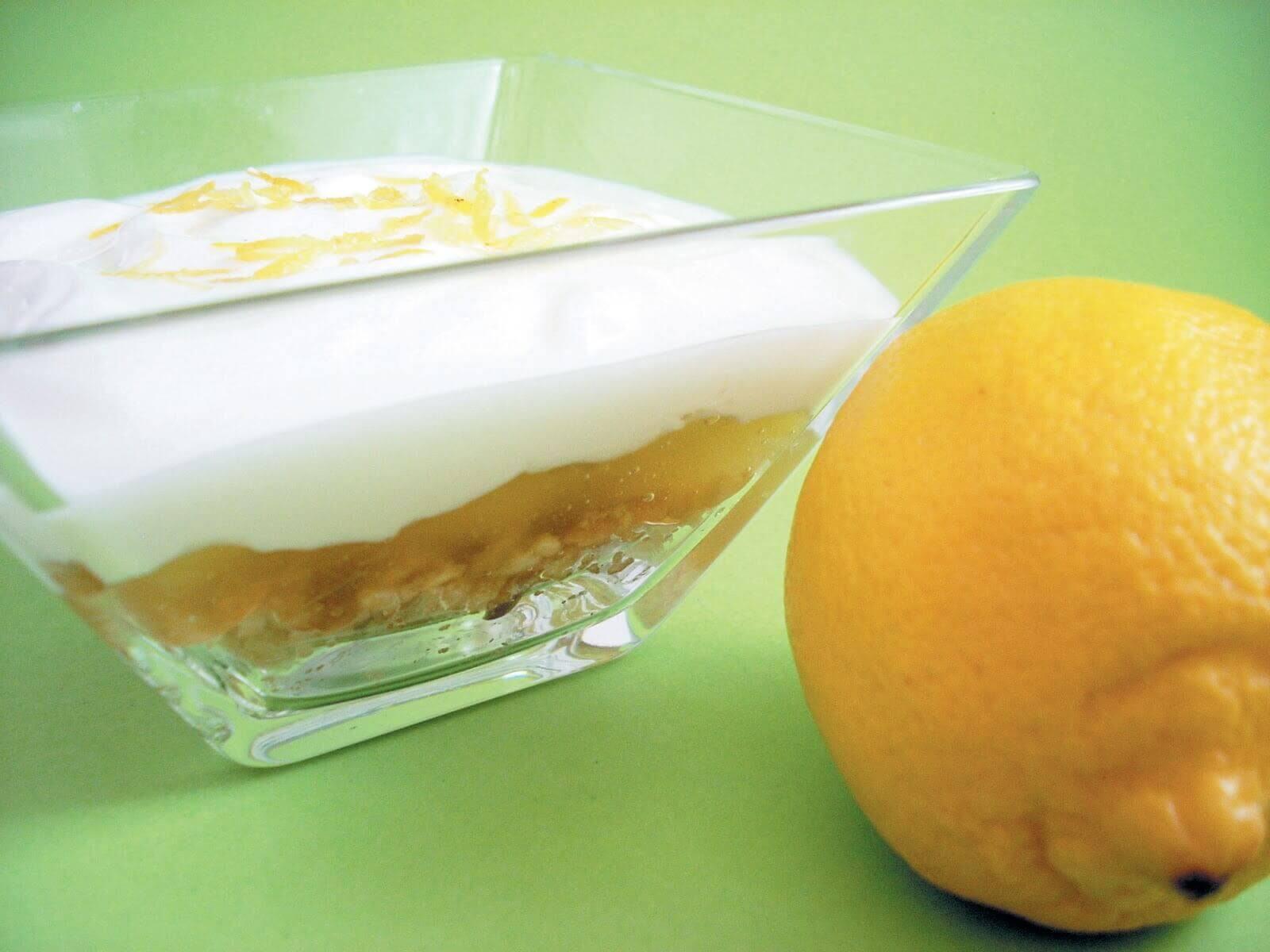 Рецепт домашнего лимонного пирога