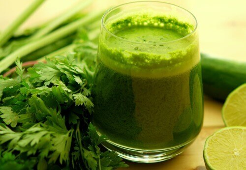 Зеленые напитки – лучшее средство для сжигания жира