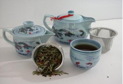 Синий чай для похудения естественным путем